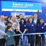 Bertone y Martín Pérez inauguraron el DIAT 'Espacio Joven'