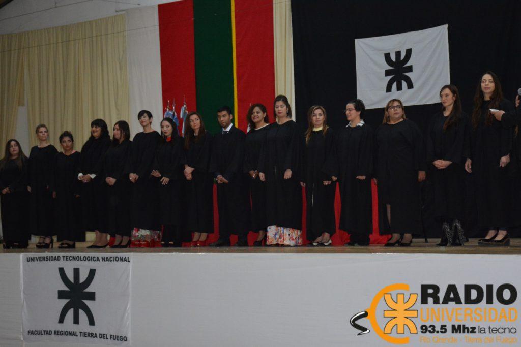 Se realizó el XXIX acto de colación de grado en la Facultad Regional Tierra del Fuego