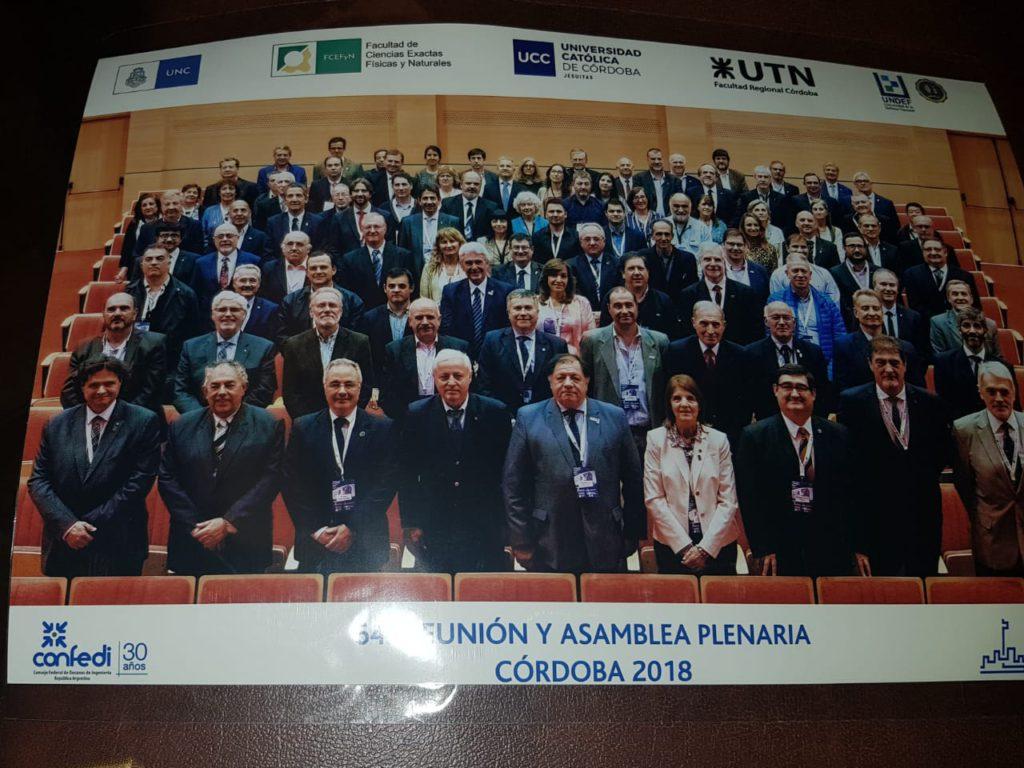 La Facultad Regional Tierra del Fuego volvió a estar presente en la 64° Asamblea Plenaria del Consejo Federal de Decanos de Ingeniería