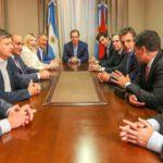 Con la presencia de la gobernadora Bertone, la mesa de trabajo de Alternativa Federal se reunió en la casa de Entre Ríos