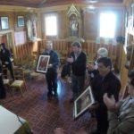 Melella participó de la reapertura de la Capilla Histórica de La Misión Salesiana
