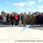 Melella inauguró la apertura de la calle Submarino ARA San Juan