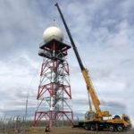 Se instaló en Tierra del Fuego el radar meteorológico más austral del mundo