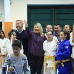 La gobernadora inauguró el Gimnasio Integrador de la Margen Sur