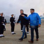 Arcando recibió 'protocolarmente' a Macri