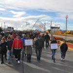 Unas 500 personas marcharon pidiendo justicia