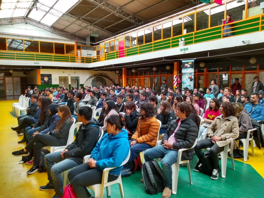 La Facultad Regional Tierra del Fuego recibió a los alumnos ingresantes