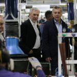Macri visitó plantas de Newsan en Ushuaia