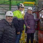 Bertone inauguró la ampliación del Sistema de Transporte de Gas