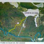 """""""La única solución de la laguna Seca es llenarla de agua"""", dijo Rabassa"""
