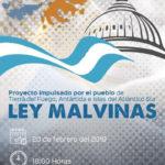 La Gobernadora presenta el proyecto de Ley Malvinas en Río Grande