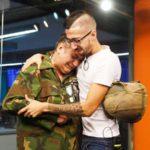 Un héroe argentino recuperó el casco que le salvó la vida en Malvinas