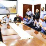 Gustavo Melella rubricó el acuerdo salarial para el primer semestre del año