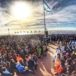 Río Grande rindió tributo a los héroes de Malvinas