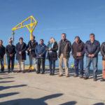 Bertone inauguró los muelles de pesca artesanal de Ushuaia y Almanza