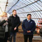 La provincia incentiva el trabajo de los productores frutihortícolas de Río Grande