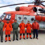 Arcando resaltó la importancia de vincular a la Antártida con helicópteros