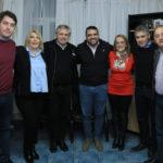 Alberto Fernández respaldó nuevamente la candidatura de Rosana Bertone, Walter Vuoto y Martín Pérez