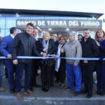 Quedó inaugurada la nueva sucursal del Banco de Tierra del Fuego