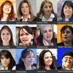 Solo 12 mujeres fueron elegidas de los 33 cargos disputados
