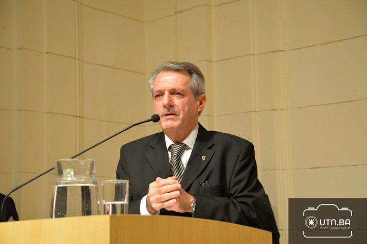Héctor Aiassa, Rector de la Universidad Tecnológica Nacional.