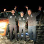 Manejaron desde Alaska hasta Ushuaia en sólo 10 días