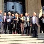 Gobernadores de 13 provincias opositoras se presentaron ante la Corte