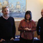 El ministro Frigerio les dio un fuerte respaldo a los candidatos de Juntos por el Cambio en Tierra del Fuego