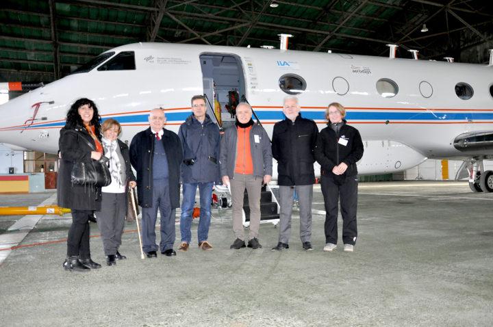 Ya se encuentra en Río Grande el avión alemán Gulfstream G550 -que dispone 13 instrumentos únicos-, además, que realizará mediciones atmosféricas en la Patagonia Sur y la Península Antártica.