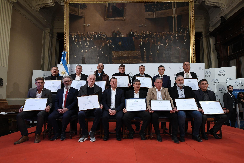 El Senado reconoció a la selección argentina campeona mundial juvenil 1979.