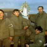 La imagen de la Virgen de Luján que acompañó a los soldados en Malvinas regresa a la Argentina