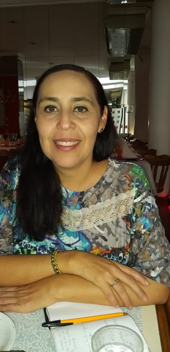 Dra. Marina Vázquez Guerrero, representante de la Universidad de Colima (México).