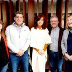 Candidatos del Frente de Todos se reunieron con Cristina Fernández de Kirchner