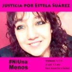 Distintas organizaciones se movilizan y piden justicia por Estela