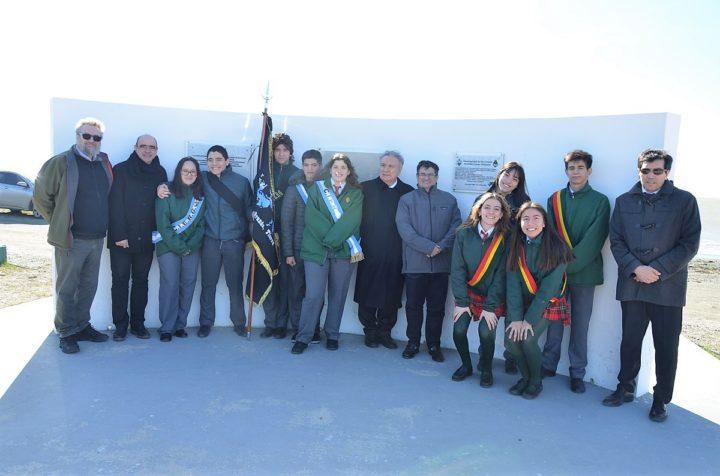 """Recordaron la creación del parque costanero """"Combatientes de Malvinas"""""""