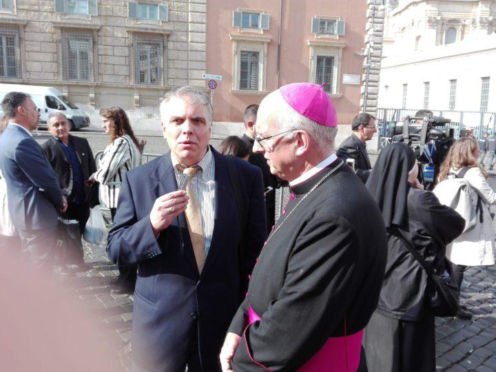 Santiago Olivera, obispo castrense de la República Argentina, dialogó con Radio Universidad 93.5.