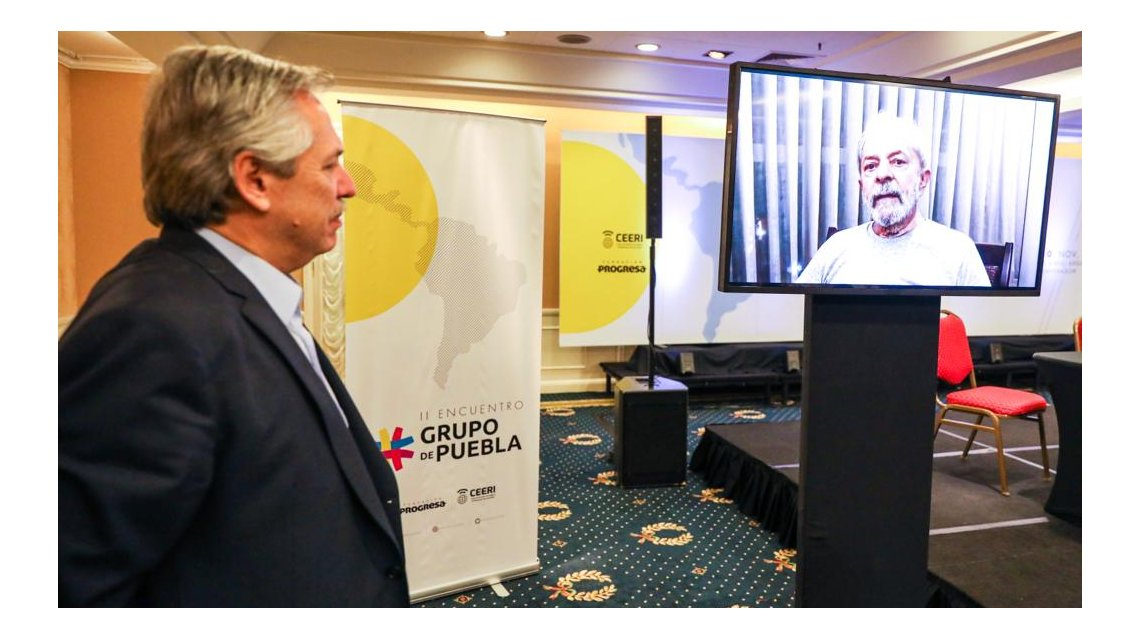 II Encuentro del Grupo de Puebla realizado en la ciudad de Buenos Aires.