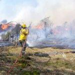 Tres incendios se abatieron la zona sur y centro de Tierra del Fuego