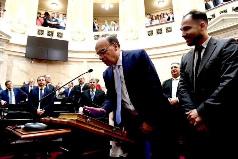 """Pablo Blanco dijo que """"en principio voy a trabajar para solucionar todas las necesidades que tiene la provincia""""."""