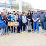 Bertone inauguró una nueva obra de gas en la Margen Sur