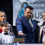 Walter Vuoto asumió su segundo mandato al frente de la municipalidad de Ushuaia