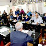 Concejales votaron a los Presidentes de las comisiones