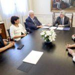 Alberto se reunió con ministros y funcionarios y ultimó detalles de primeras medidas