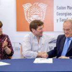 Melella firmó un convenio con la UBA