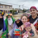 Vecinos hicieron de Reyes Magos para llevar alegría a los niños