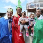 Cientos de familias disfrutaron de la visita de los reyes