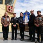 Despidieron a la Virgen Malvinera que partió hacia la Antártida en el Almirante Irízar