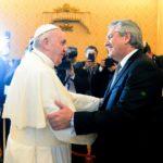 Cobertura exclusiva: El Presidente Alberto Fernández se reunió con el Papa Francisco en el Vaticano