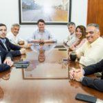 Martín Pérez se reunió con representantes de la Cámara de Comercio