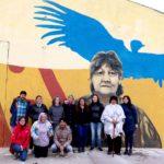 Culminó el 1° Encuentro Provincial de Muralistas Fueguinos